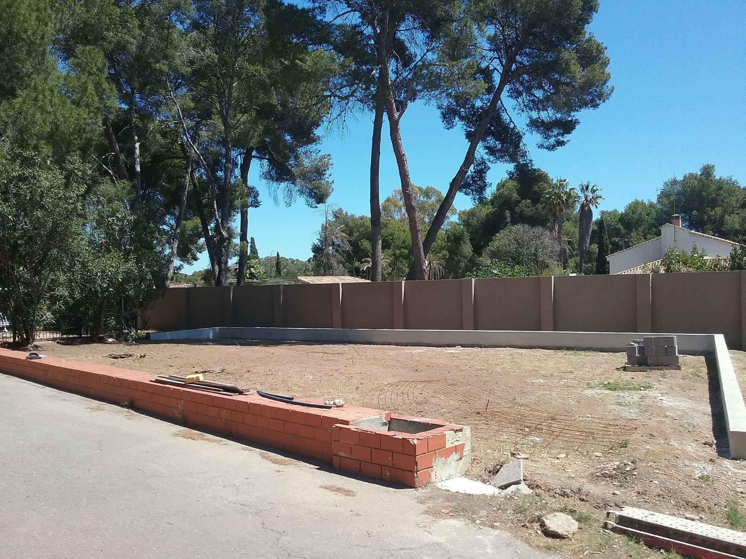 Jardín y Huerto privado en Godella, Valencia.