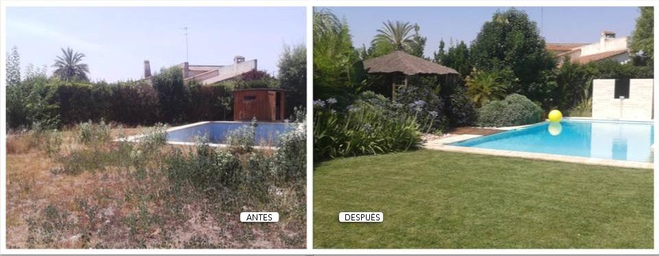 Jardín privado (Camp de Tùria-Valencia)