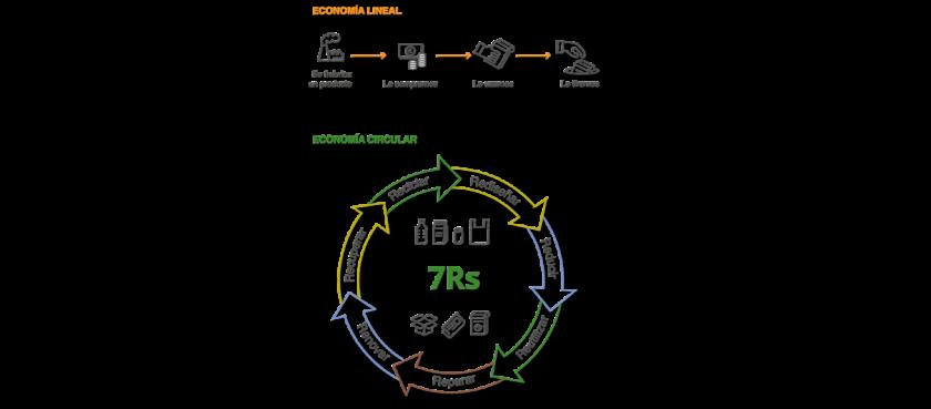 Mundo vegetal y economía circular